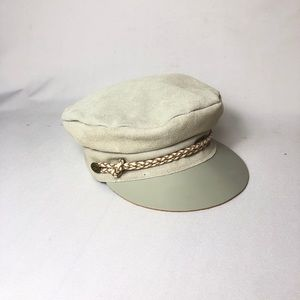 Brixton Womens Kayla Cap Suede Leather M